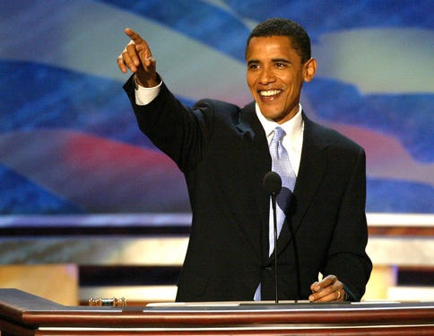 Barack Obama at the DNC 2004